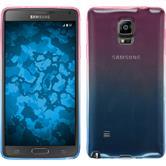 Silikon Hülle Galaxy Note 4 Ombrè Design:06