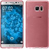 Silikon Hülle Galaxy Note FE Iced rosa Case