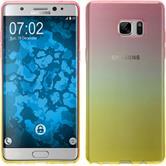 Silikon Hülle Galaxy Note FE Ombrè Design:01 Case