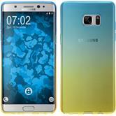 Silikon Hülle Galaxy Note FE Ombrè Design:02 Case