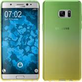 Silikon Hülle Galaxy Note FE Ombrè Design:03 Case