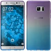 Silikon Hülle Galaxy Note FE Ombrè Design:04 Case