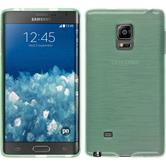 Silicone Case for Samsung Galaxy Note Edge brushed green