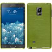 Silicone Case for Samsung Galaxy Note Edge brushed pastel green