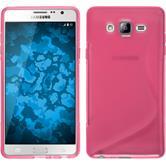 Silikon Hülle Galaxy On7 S-Style pink