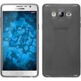 Silikon Hülle Galaxy On7 X-Style grau