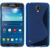 Silicone Case for Samsung Galaxy Round S-Style blue