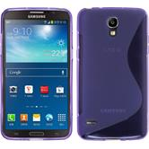 Silicone Case for Samsung Galaxy Round S-Style purple