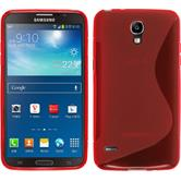 Silicone Case for Samsung Galaxy Round S-Style red