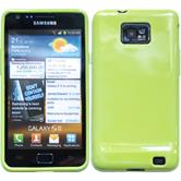 Silicone Case for Samsung Galaxy S2  green
