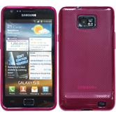 Silicone Case for Samsung Galaxy S2  red