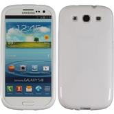 Silicone Case for Samsung Galaxy S3 X-Style white