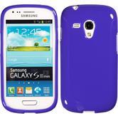 Silicone Case for Samsung Galaxy S3 Mini Candy purple