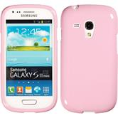 Silicone Case for Samsung Galaxy S3 Mini Candy pink