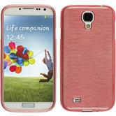 Silicone Case for Samsung Galaxy S4 brushed pink