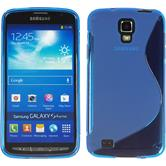 Silicone Case for Samsung Galaxy S4 Active S-Style blue