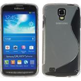 Silikonhülle für Samsung Galaxy S4 Active S-Style grau