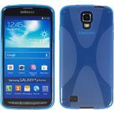 Silikonhülle für Samsung Galaxy S4 Active X-Style blau