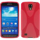 Silicone Case for Samsung Galaxy S4 Active X-Style hot pink