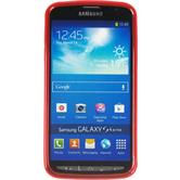 Silicone Case for Samsung Galaxy S4 Active X-Style red