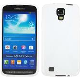 Silicone Case for Samsung Galaxy S4 Active X-Style white