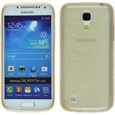 Silicone Case for Samsung Galaxy S4 Mini brushed gold