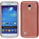 Silicone Case for Samsung Galaxy S4 Mini brushed pink