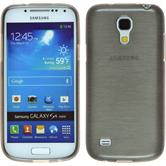 Silicone Case for Samsung Galaxy S4 Mini brushed silver