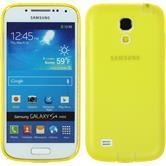 Silikonhülle für Samsung Galaxy S4 Mini Dustproof gelb