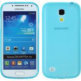 Silicone Case for Samsung Galaxy S4 Mini Dustproof light blue