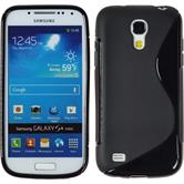 Silicone Case for Samsung Galaxy S4 Mini S-Style black