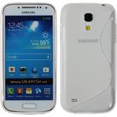 Silicone Case for Samsung Galaxy S4 Mini S-Style transparent