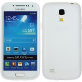 Silikon Hülle Galaxy S4 Mini Frosted weiß