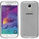Silikon Hülle Galaxy S4 Mini Plus I9195 Slimcase clear + 2 Schutzfolien