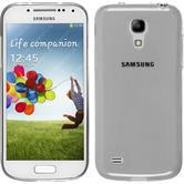 Silikon Hülle Galaxy S4 Mini Slimcase clear + 2 Schutzfolien