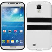Silicone Case for Samsung Galaxy S4 Stripes white