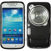 Silicone Case for Samsung Galaxy S4 Zoom matt black