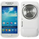 Silicone Case for Samsung Galaxy S4 Zoom matt white