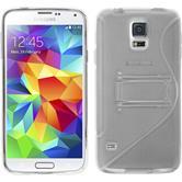 Silikon Hülle Galaxy S5  clear