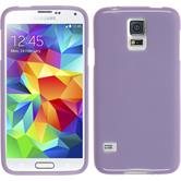 Silicone Case for Samsung Galaxy S5 Candy purple