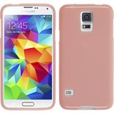 Silicone Case for Samsung Galaxy S5 Candy pink