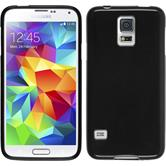 Silicone Case for Samsung Galaxy S5 Candy black