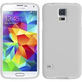 Silicone Case for Samsung Galaxy S5 Candy white