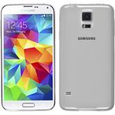 Silikon Hülle Galaxy S5 mini Slimcase clear + 2 Schutzfolien