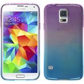 Silikon Hülle Galaxy S5 Neo Ombrè Design:04 + 2 Schutzfolien