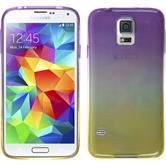 Silikon Hülle Galaxy S5 Neo Ombrè Design:05 + 2 Schutzfolien