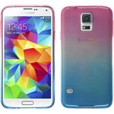 Silikon Hülle Galaxy S5 Neo Ombrè Design:06 + 2 Schutzfolien
