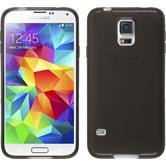Silikonhülle für Samsung Galaxy S5 Neo transparent schwarz