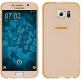 Silikon Hülle Galaxy S6 360° Fullbody gold