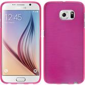 Silikon Hülle Galaxy S6 brushed pink